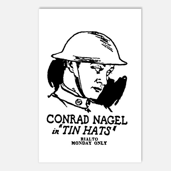 Conrad Nagel Postcards (Package of 8)