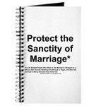 Protect the Sanctity of Marriage* Journal