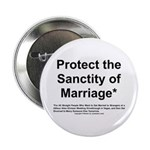 Protect the Sanctity of Marriage* Button