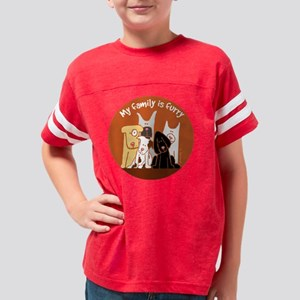 furryfamily Youth Football Shirt