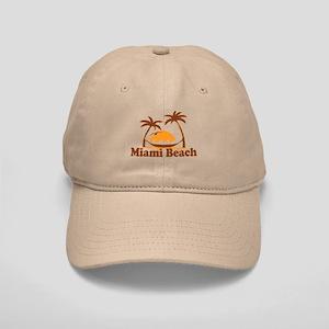 Miami Beach - Palm Trees Design. Cap