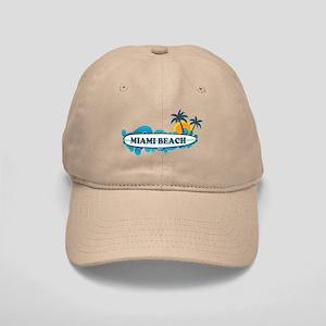 Miami Beach - Surf Design. Cap