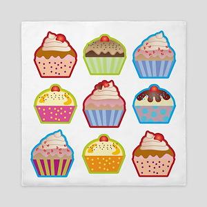 Cute Cupcakes Queen Duvet