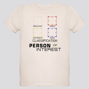 Person of Interest Classifications Organic Kids T-