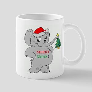 MERRY XMAS ELEPHANT Mug