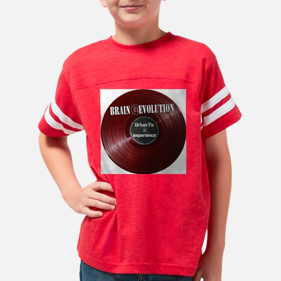 brain rev Youth Football Shirt