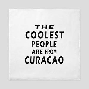 The Coolest Curacao Designs Queen Duvet