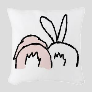 !!bunnybt3 Woven Throw Pillow