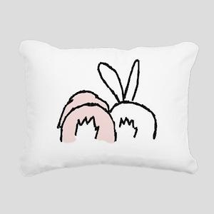 !!bunnybt3 Rectangular Canvas Pillow