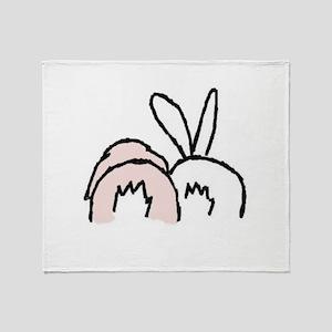 !!bunnybt3 Throw Blanket