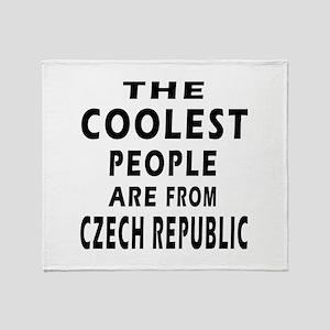 The Coolest Czech Republic Designs Throw Blanket