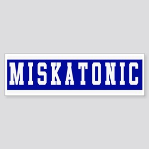 Miskatonic Bumper Sticker