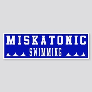 Miskatonic Swimming Bumper Sticker