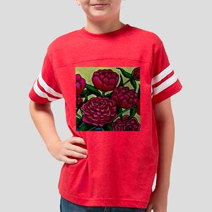 PeonyCoaster Youth Football Shirt