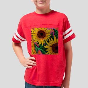 sunflowercoaster Youth Football Shirt