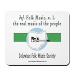 Folk Music Mouse Pad