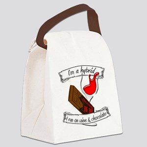 Wine Chocolate Hybrid Canvas Lunch Bag