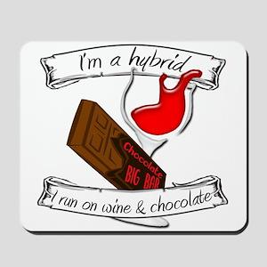Wine Chocolate Hybrid Mousepad