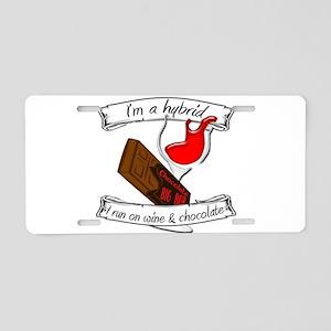 Wine Chocolate Hybrid Aluminum License Plate