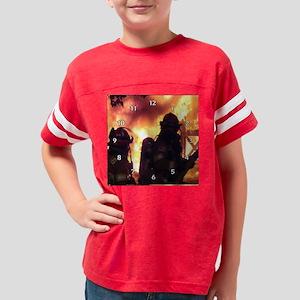 Firefighter Team Youth Football Shirt