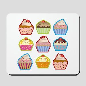 Cute Cupcakes Mousepad