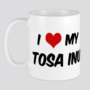 I Love: Tosa Inu Mug