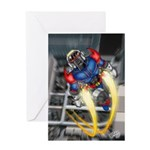 jump jetcolor Greeting Card