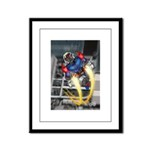jump jetcolor Framed Panel Print