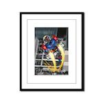 jump jetcolor.jpg Framed Panel Print