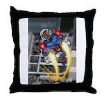 jump jetcolor Throw Pillow