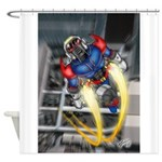 jump jetcolor Shower Curtain