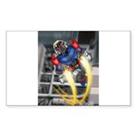 jump jetcolor Sticker