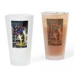 jump jetcolor Drinking Glass