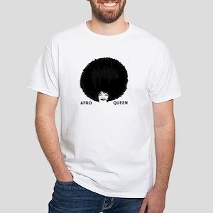 Afro Queen Women's Pink T-Shirt