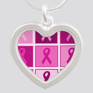 Pink Ribbon Multi pink Necklaces