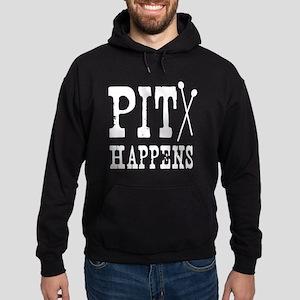 Pit Happens Hoodie (dark)
