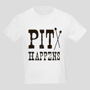 Pit Happens Kids Light T-Shirt
