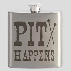 Pit Happens Flask