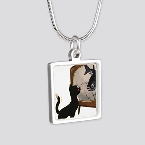 Black Cat and Fish Necklaces