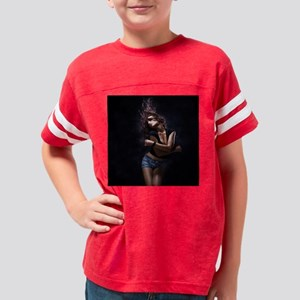 Dancer in Street Clothes Youth Football Shirt