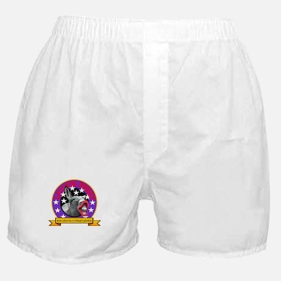 LAUGHING DONKEY LOGO Boxer Shorts
