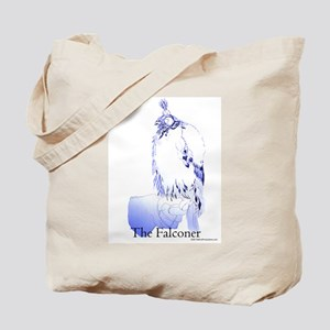 The Falconer in Blue - Birds Tote Bag