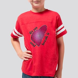 stained_glass_heart Youth Football Shirt
