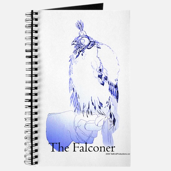 The Falconer in Blue - Birds Journal
