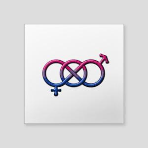 Bisexual Knot Sticker
