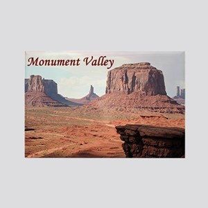 Monument Valley, John Ford's Poin Rectangle Magnet