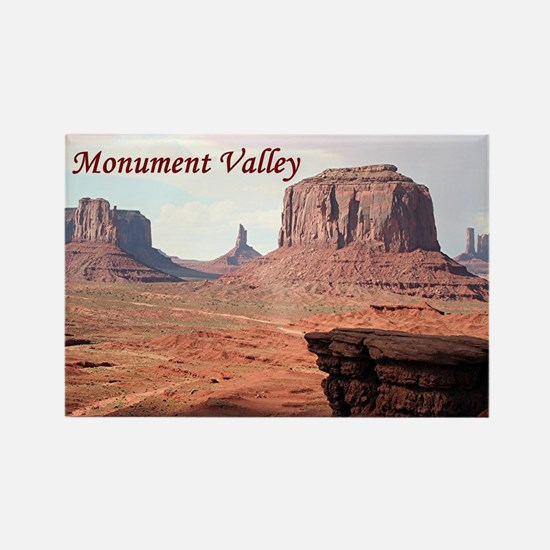 Monument Valley, John Ford's Poin Rectangle Magnet