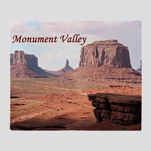 Monument Valley, John Ford's Point,  Throw Blanket