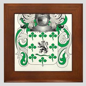 Gallagher Coat of Arms (Family Crest) Framed Tile