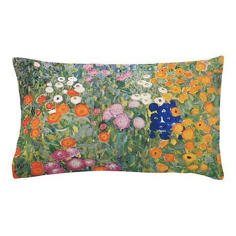 Flower Garden by Klimt Pillow Case